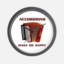 ACCORDIAN Wall Clock