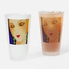 1929s Style Gal Drinking Glass