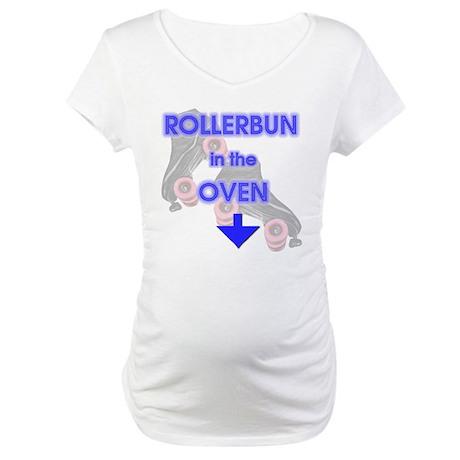 RollerBuzz rollerbun Maternity T-Shirt