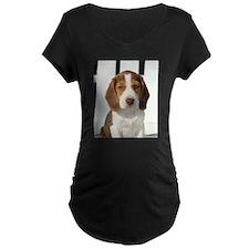 Baby Beagle Maternity T-Shirt