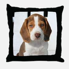 Baby Beagle Throw Pillow