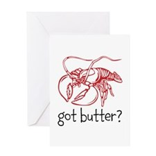 Got Butter Greeting Cards