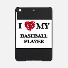 I love my Baseball Player hearts de iPad Mini Case