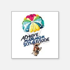 """Achieve Maximum Scraltitude Square Sticker 3"""" x 3"""""""