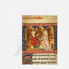 Cute Medieval Greeting Card