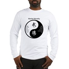 Cute Martial arts Long Sleeve T-Shirt