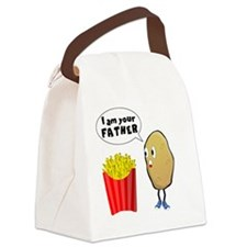 FRENCH FRIES-I'M YOUR FATHER Canvas Lunch Bag