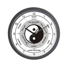 Acupuncture Clock Wall Clock