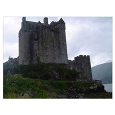 Urquhart Castle, Loch Ness Poster