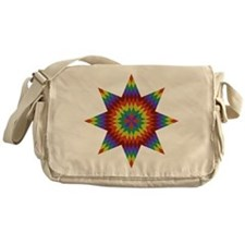 Native Stars Messenger Bag