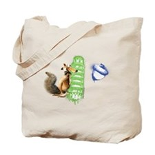 Ice Age Leaning Tower Scrat Tote Bag