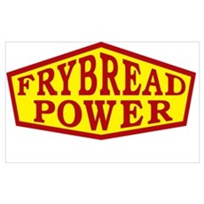 FRYBREAD POWER Poster