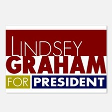 LIndsey Graham for Presid Postcards (Package of 8)