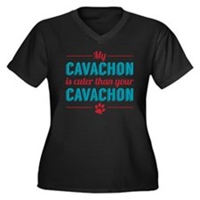 Cuter Cavachon Plus Size T-Shirt