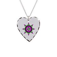 Native Stars Necklace Heart Charm