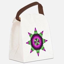 Native Stars Canvas Lunch Bag