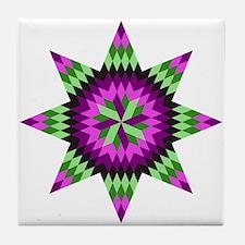 Native Stars Tile Coaster