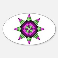 Native Stars Sticker (Oval)