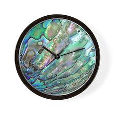 abalone Wall Clock