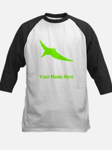 Pteranodon Silhouette (Green) Baseball Jersey
