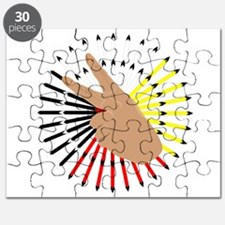 native hand Puzzle