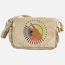 native hand Messenger Bag