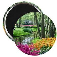 """Unique Flower 2.25"""" Magnet (10 pack)"""