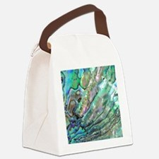 abalone Canvas Lunch Bag