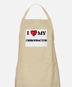 I love my Chiropractor hearts design Apron