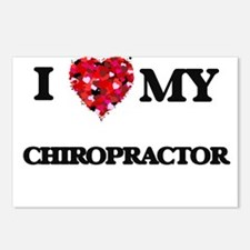 I love my Chiropractor he Postcards (Package of 8)