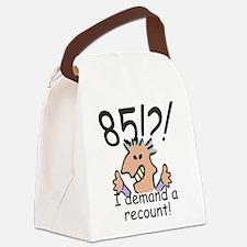 Recounty 85th Birthday Canvas Lunch Bag