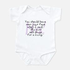 Aunt Sells Drugs Infant Bodysuit