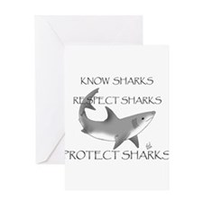 Cute Shark Greeting Card