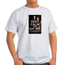 Keep Calm and Eat the Zombies T-Shirt