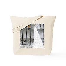 sad teddy Tote Bag