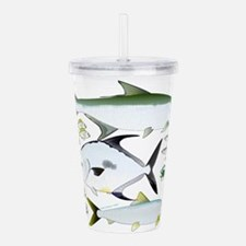 Cute Fish Acrylic Double-wall Tumbler