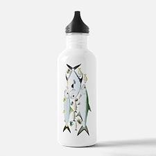 Funny Bonefish Water Bottle