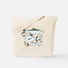 Unique Tarpon fishing Tote Bag