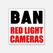 Ban Red Light Cameras Sticker
