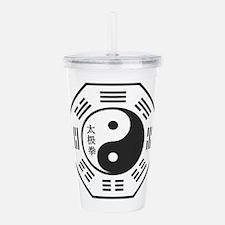Tai Chi Symbol Acrylic Double-wall Tumbler