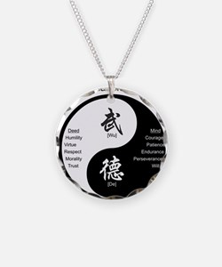 Unique Martial arts Necklace