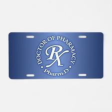 Pharmacist 2a Aluminum License Plate