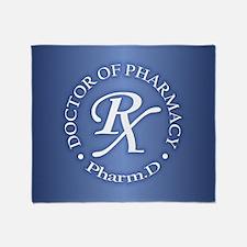 Pharmacist 2a Throw Blanket