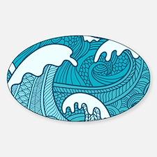 Ocean Waves Decal