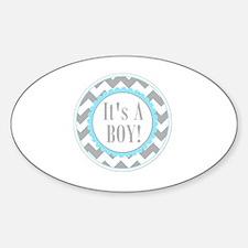 It's a Boy Sticker (Oval)
