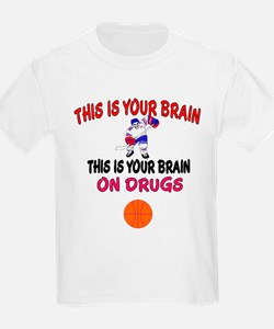 HOCKEY THIS IS YOUR BRAIN T-Shirt