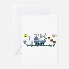 It's a Boy Greeting Cards