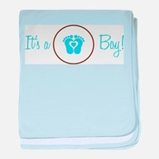 It's a Boy baby blanket