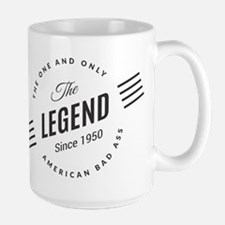 Birthday Born 1950 The Legend Mug