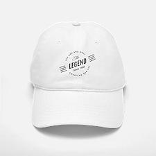 Birthday Born 1950 The Legend Baseball Baseball Cap